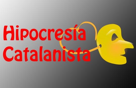 Hipocresía catalanista