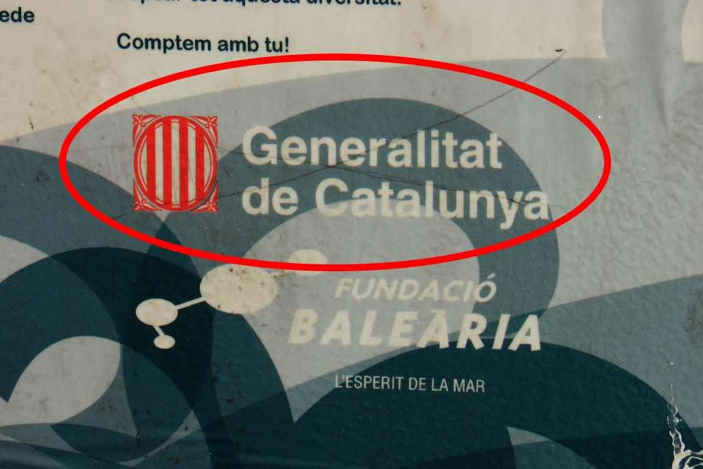 Generalitat de Catalunya, sello de manipulación catalanista